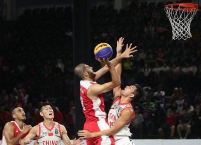 بسکتبال سه نفره آقایان برنزی شد، تعداد مدال های ایران به 40 رسید