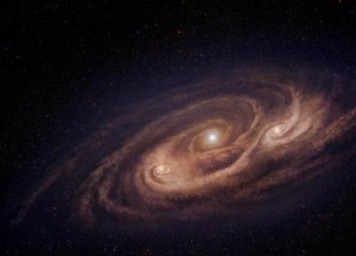رصد کهکشانی که هزار برابر سریع تر از راه شیری ستاره می سازد