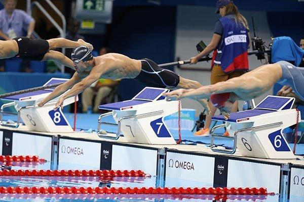 شناگر ایران از کسب مدال پاراآسیایی بازماند