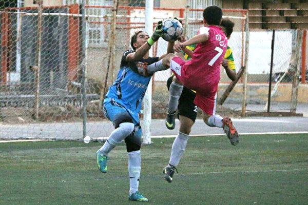حضور 3 تیم هم امتیاز در صدر جدول لیگ جوانان قم