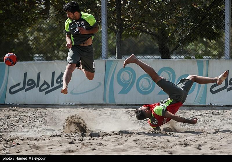 برتری پرگل تیم ملی فوتبال ساحلی ایران در دیداری دوستانه