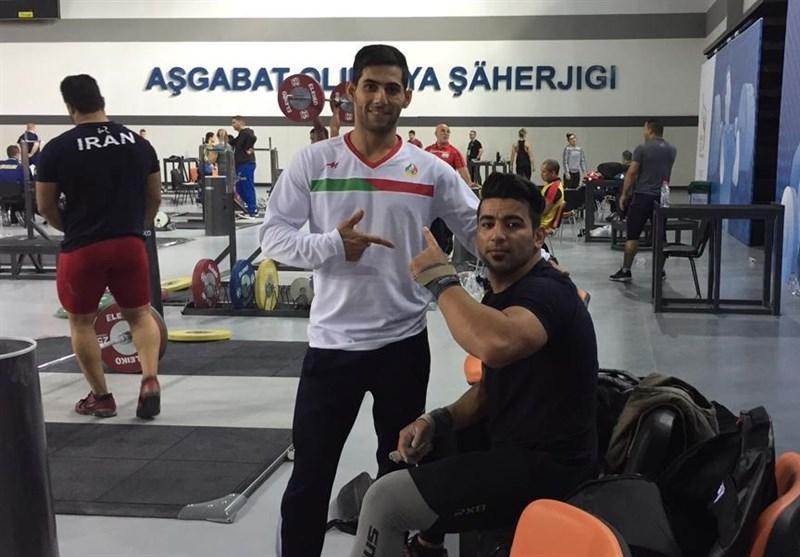 وزنه برداری قهرمانی دنیا، برگزاری نخستین تمرین تیم ملی وزنه برداری در عشق آباد