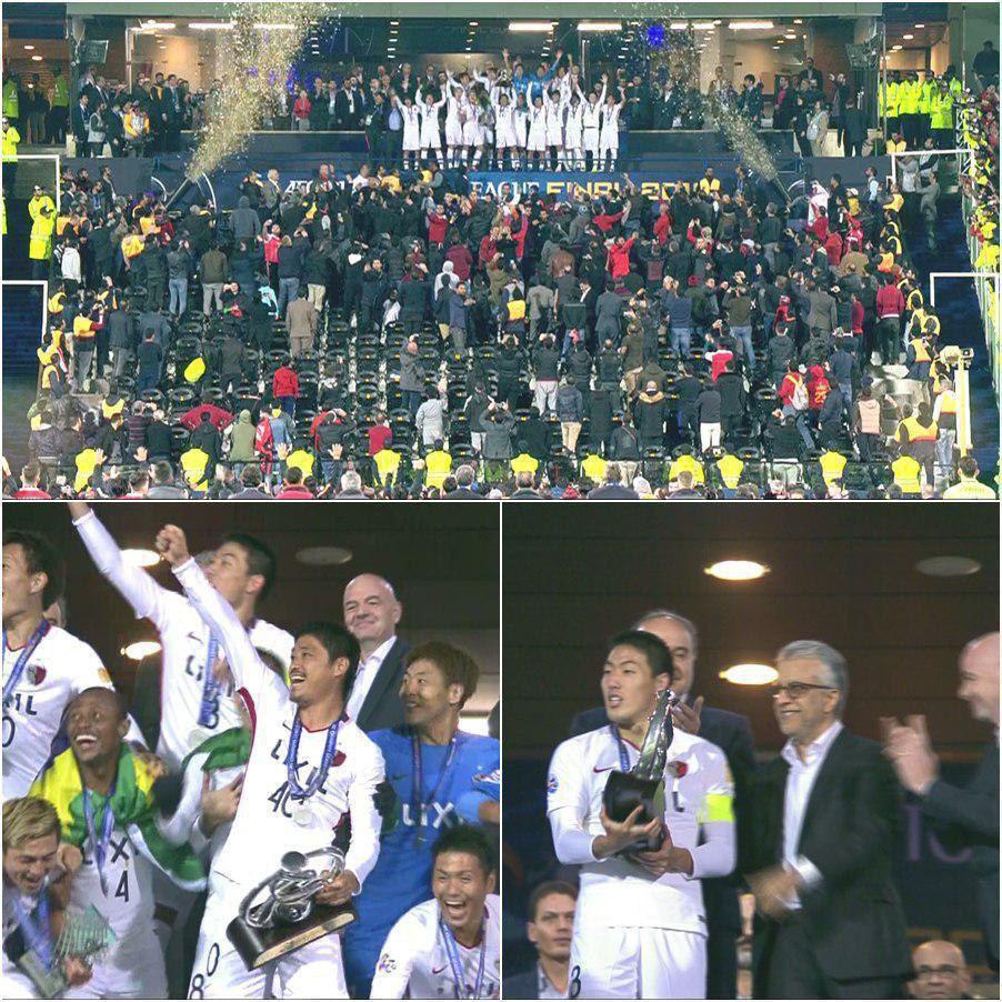 تصاویری از دیدار فینال لیگ قهرمانان آسیا و مراسم اهدای جام