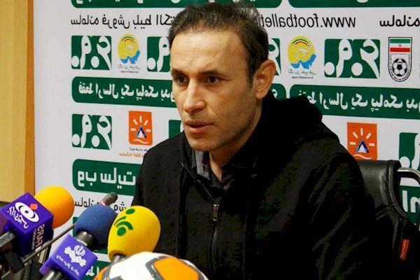 گل محمدی: بازیکنانم تا لحظه آخر برای بردن جنگیدند