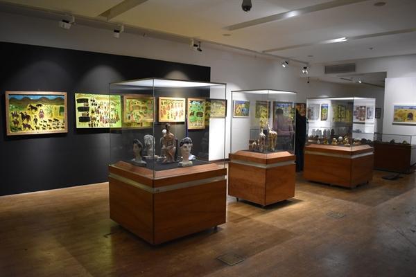 موزه ملی ایران، میزبان آفریده های هنرمندان خودآموخته