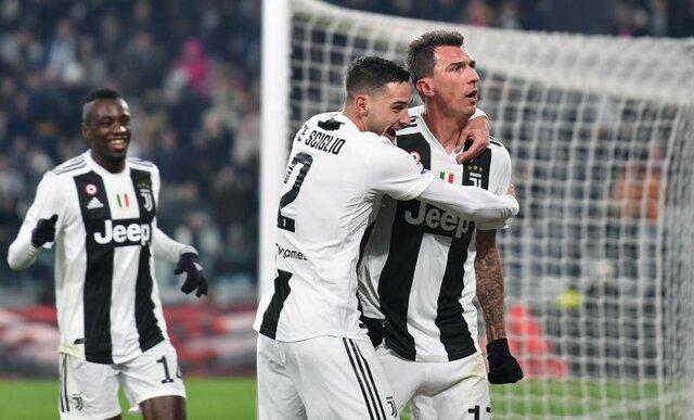 پیروزی یووه برابر رم با گل 3 امتیازی مانژوکیچ