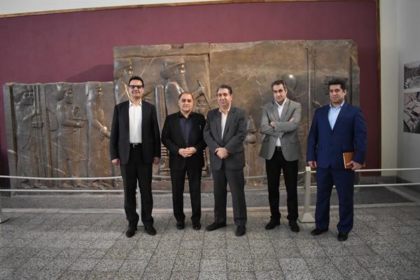 بازدید معاون توسعه مدیریت سازمان میراث فرهنگی از موزه ملی ایران