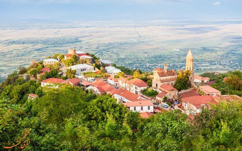 چرا سیقناقی در گرجستان به شهر عشق معروف شده است؟