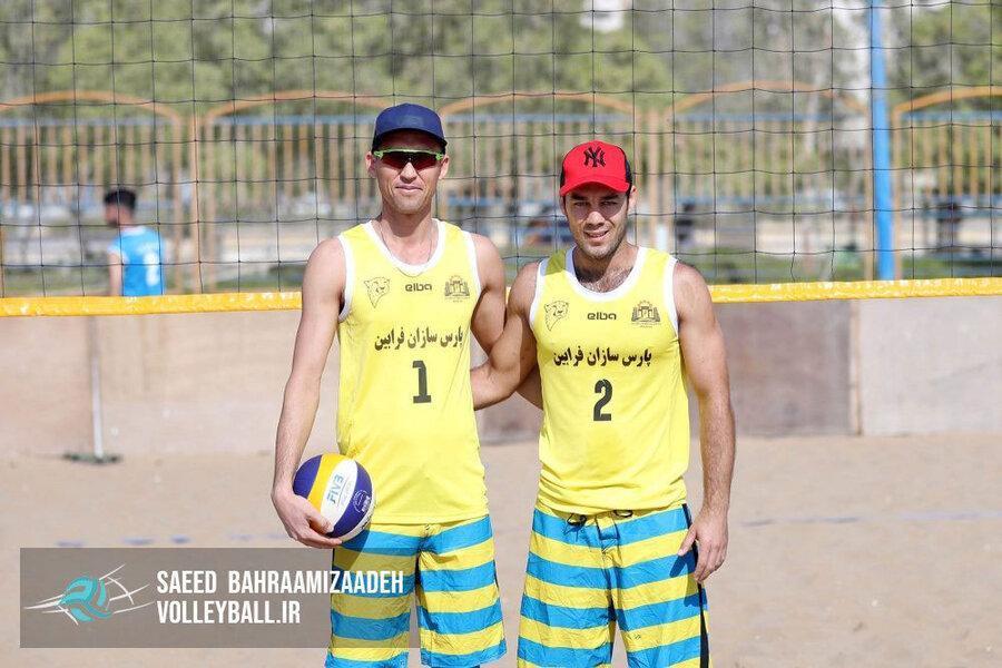 شهرداری درگهان الف قهرمان مرحله نهایی تور والیبال ساحلی کشور شد