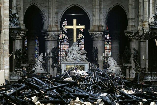 بازسازی کلیسا نوتردام در 5 سال امکان پذیر نیست