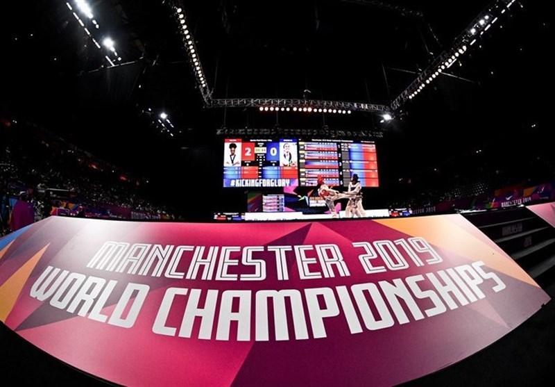 عدم نصب پرچم ایران در سالن برگزاری مسابقات تکواندوی قهرمانی جهان در انگلیس