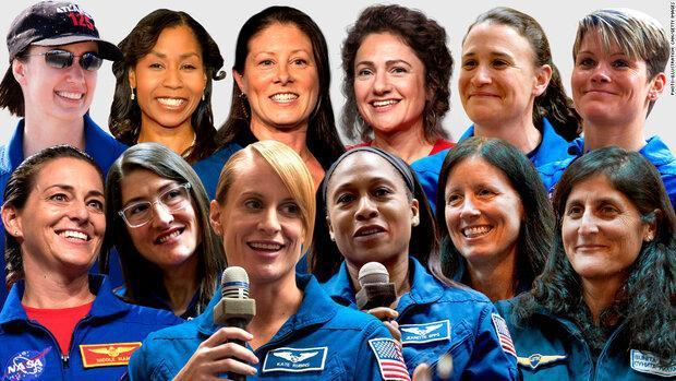 12 فضانورد زن کاندیدای سفر به ماه معرفی شدند