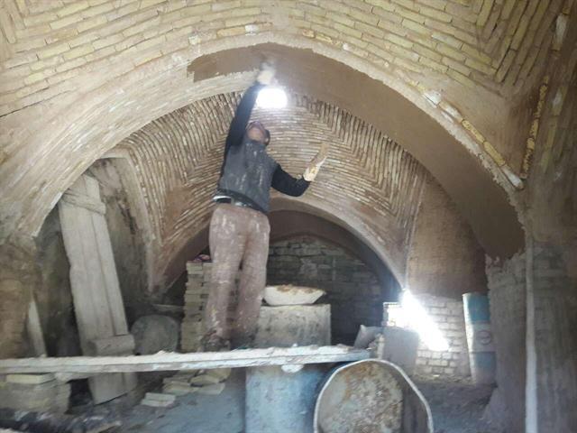 پایان عملیات مرمت آسیاب تاریخی درده در شهرستان تیران