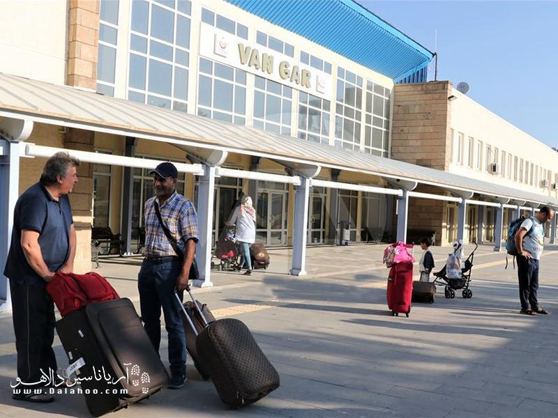 چطور با قطار از تهران به وان در ترکیه برویم؟