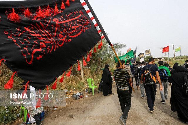 تردد بیش از 107 هزار نفر از مرز مهران از شروع محرم