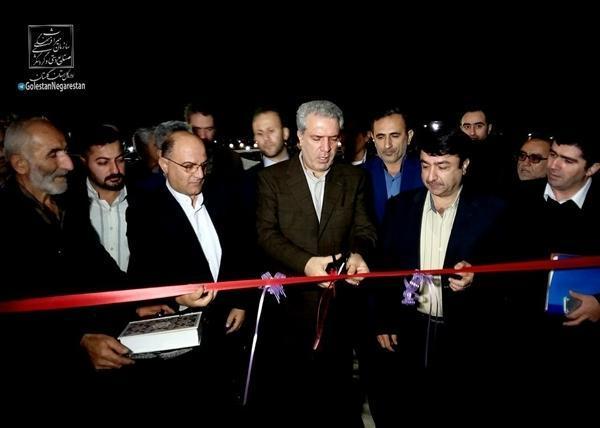 افتتاح و آغاز عملیات اجرایی 7 پروژه گردشگری با حضور مونسان