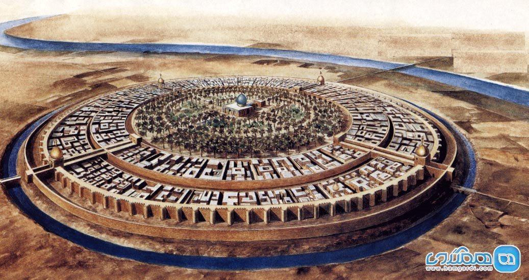 دانستنی های جالب درباره نقشه شهر بغداد در گذشته