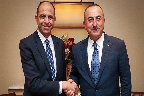وزرای خارجه ترکیه و جمهوری قبرس شمالی دیدار کردند