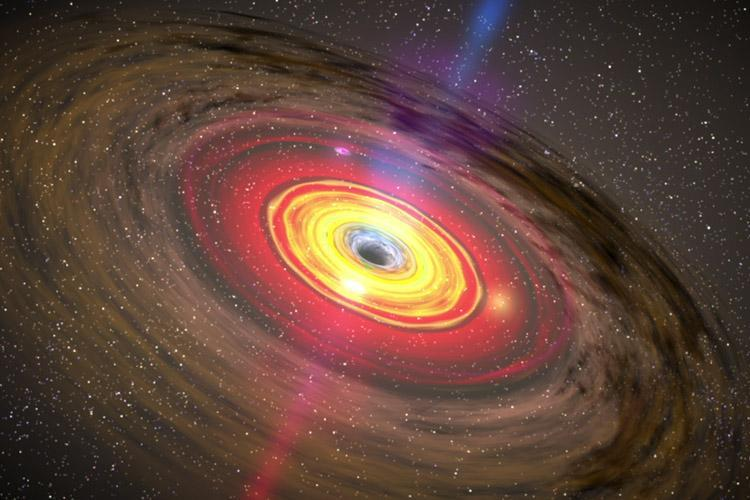 سیاه چاله ها مرموز تر از همواره ، اشیاء با گذشت زمان وزن بیشتری پیدا می نمایند