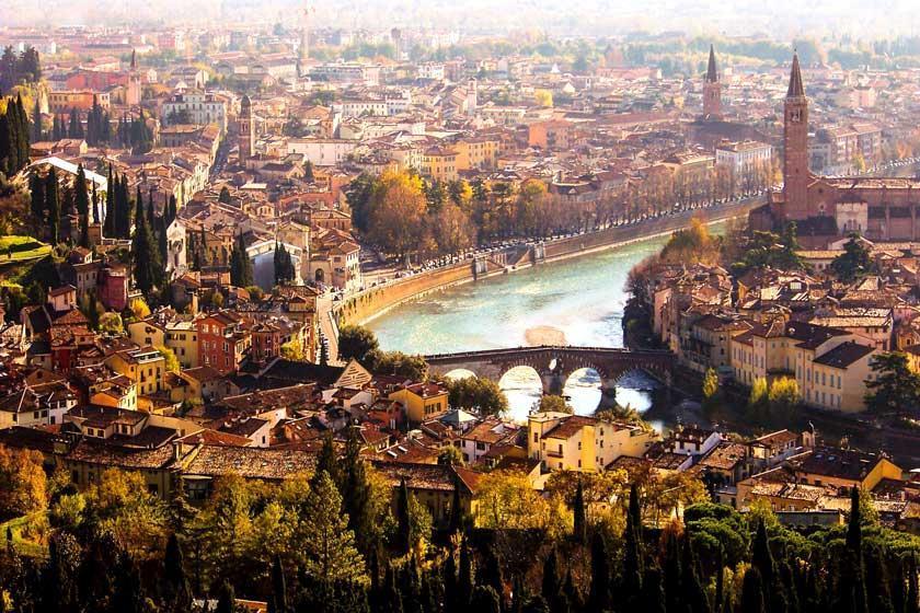 ورونا، پایتخت عشق ایتالیا