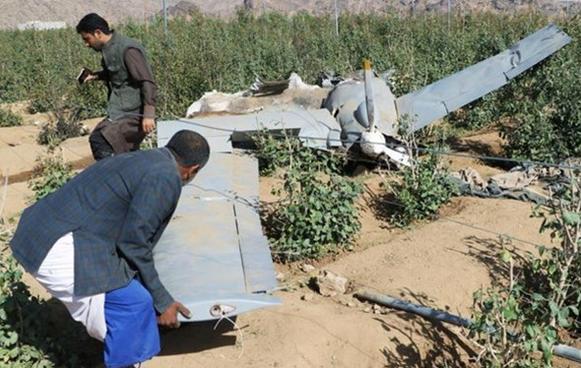 سرنگونی پهپاد جاسوسی سعودی در نزدیکی نجران