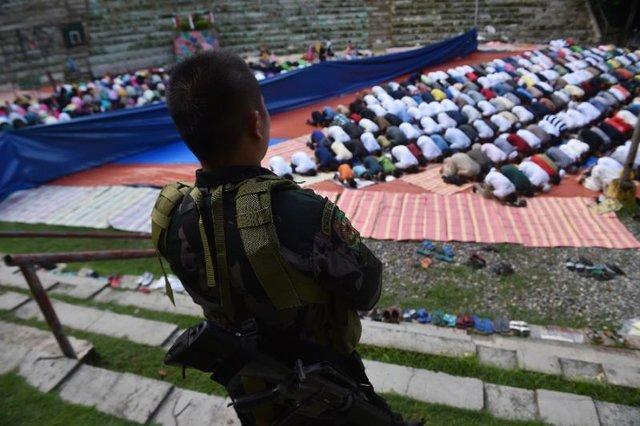 آتش بس ارتش فیلیپین در شهر جنگ زده ماراوی به مناسبت عید فطر