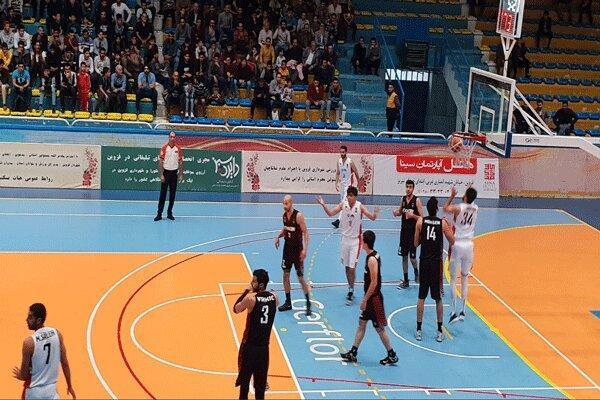 تیم بسکتبال شهرداری قزوین بازی خانگی را واگذار کرد