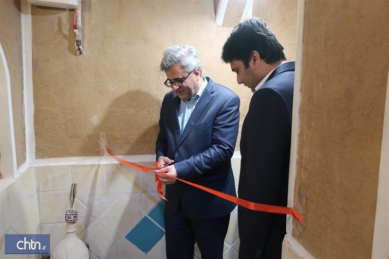 افتتاح یک اقامتگاه بوم گردی در بافت تاریخی یزد با حضور معاون گردشگری