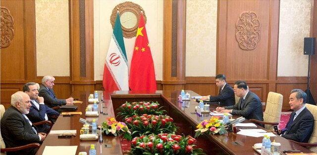 دور نخست گفت وگوی ظریف با وزیر خارجه چین