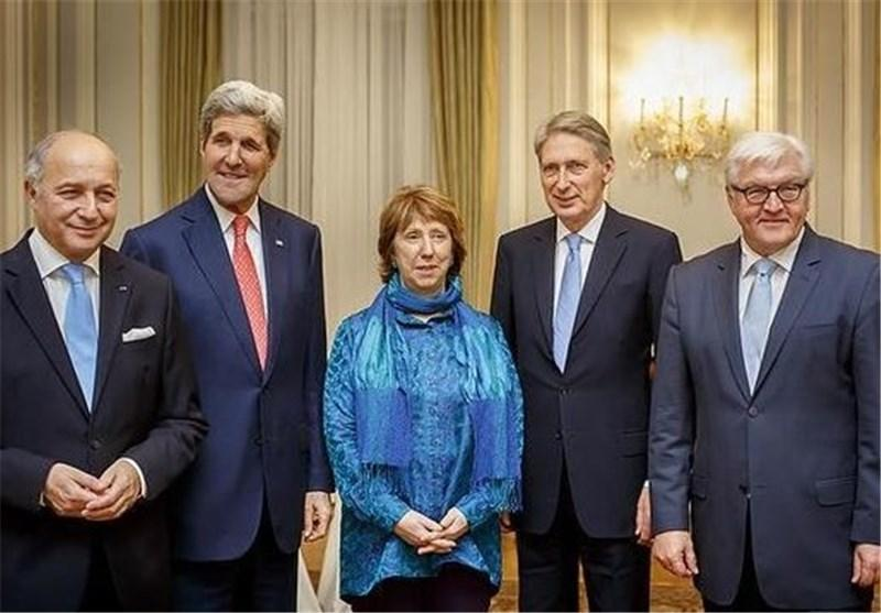 شروع شام کاری کری و وزرای خارجه اروپایی در سفارت انگلیس در وین