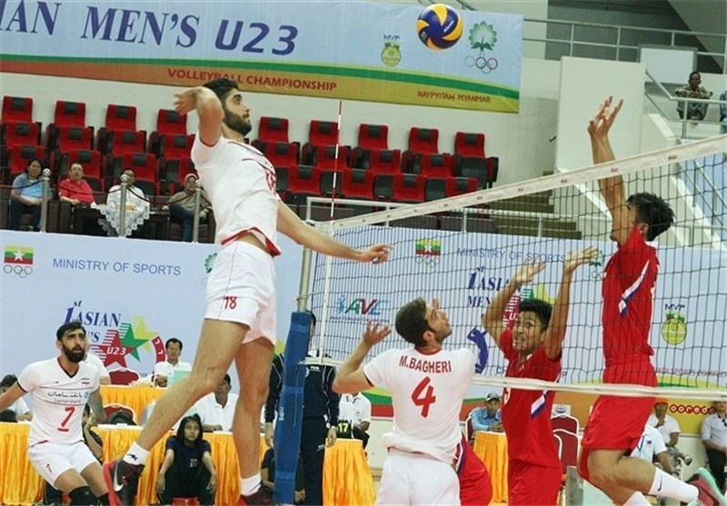 کره جنوبی به فینال مسابقات والیبال زیر 23 سال آسیا رسید