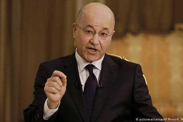 رئیس جمهوری عراق کناره گیری کرد
