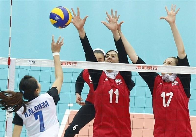 14 ملی پوش تیم والیبال بانوان برای حضور در مسابقات قهرمانی آسیا تعیین شدند