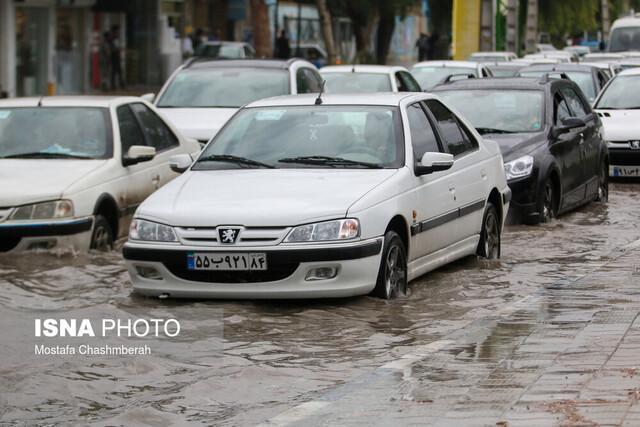 اطلاعیه هواشناسی درباره تداوم بارش ها و احتمال آبگرفتگی معابر