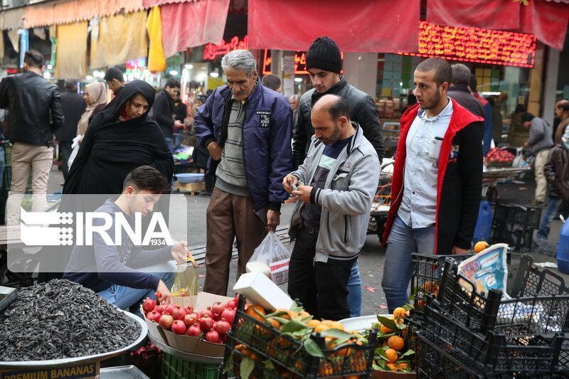 خبرنگاران دستفروشان به روز بازار بیرجند منتقل شدند