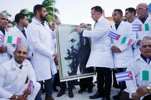 کوبا به ایتالیا پزشک اعزام کرد