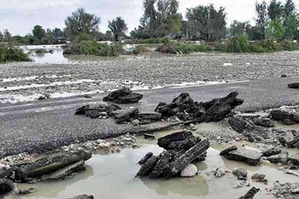 خسارت سنگین سیل به راه های کشور