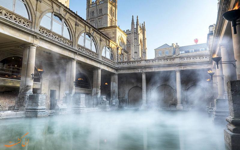 دیدنی های شهر باث، حمام عظیم اروپا