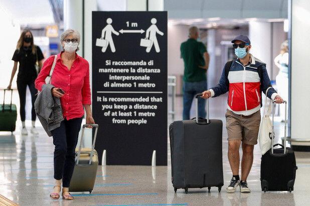 ایتالیا به مسافران آمریکایی اجازه ورود نداد