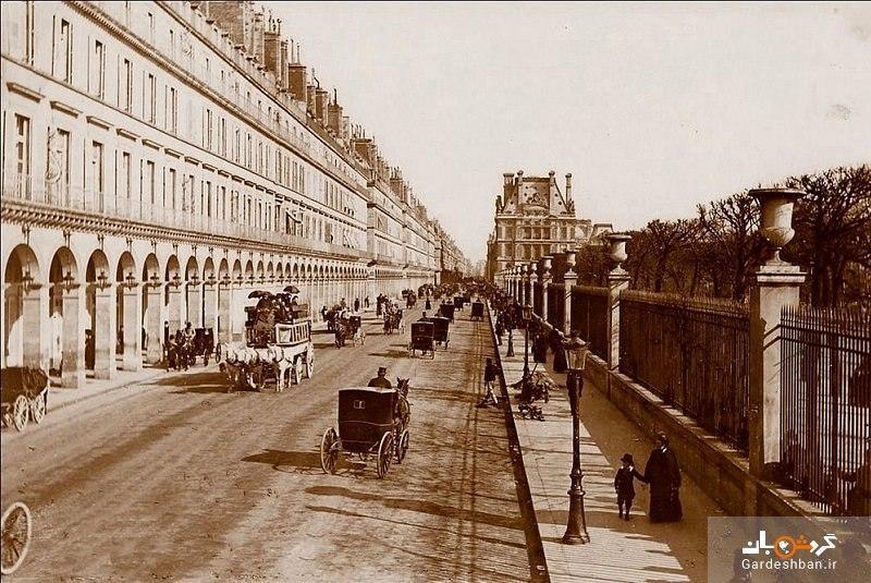 خیابان ریولی پاریس یادگار آخرین امپراطور فرانسه، تصاویر