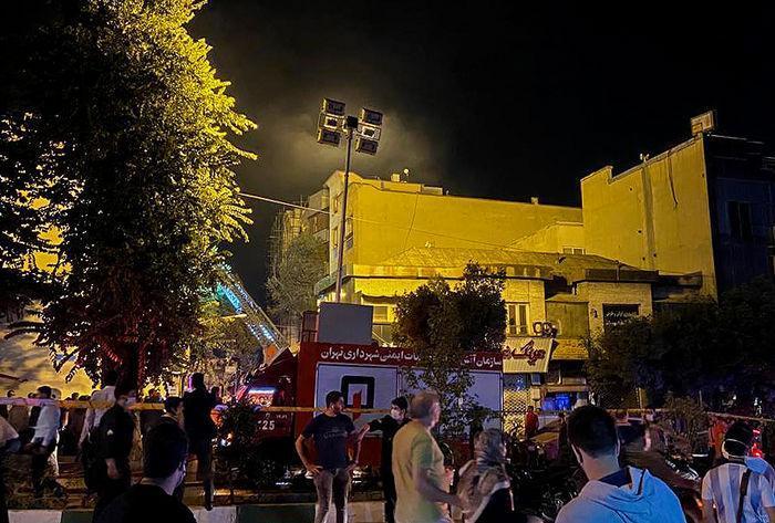سردار هداوند علت انفجار بیمارستان سینا را تشریح کرد