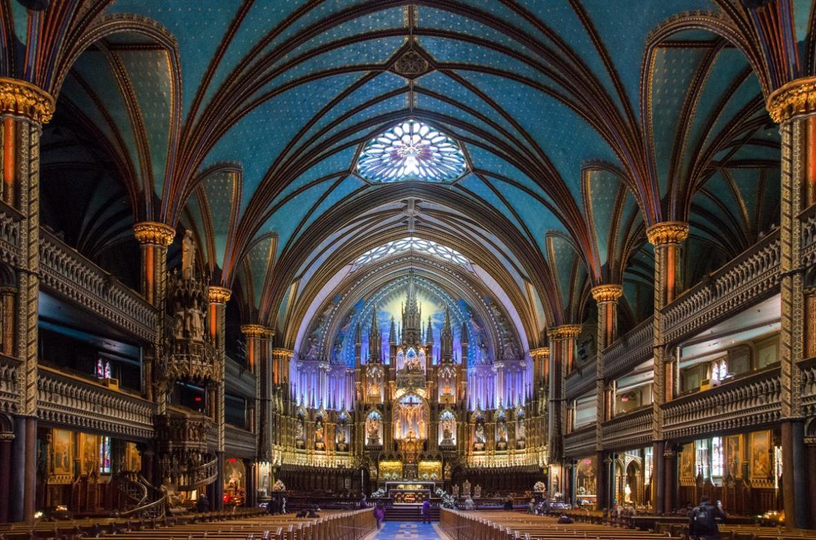 مقاله: کلیسای نوتردام مونترال (کانادا)