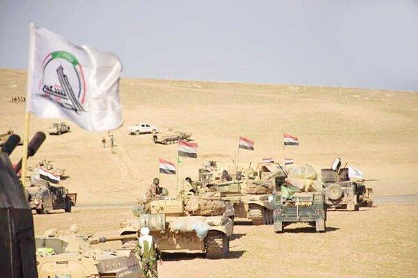 حشد شعبی یورش داعش به استان دیالی عراق را ناکام گذاشت