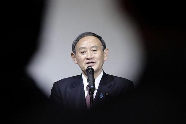 سوگا جانشین آبه در حزب حاکم ژاپن شد