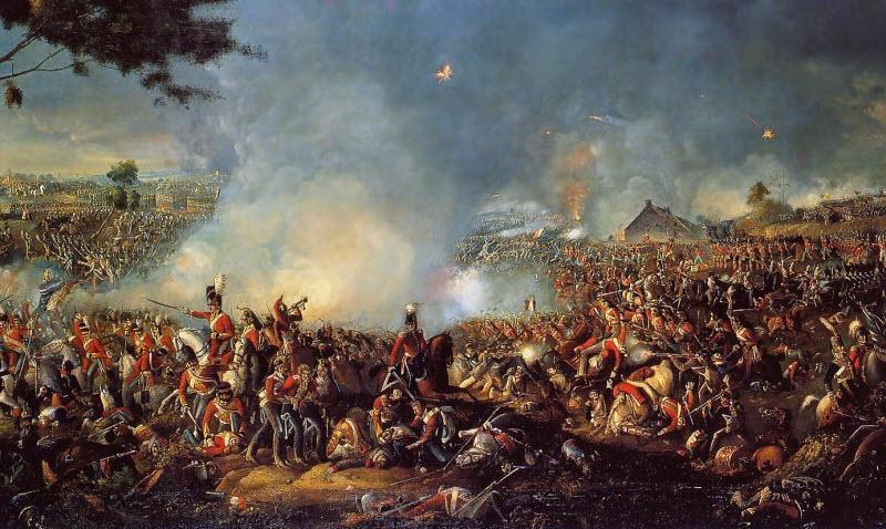فعالیت عظیم آتشفشانی در آسیا، یکی از عوامل شکست ناپلئون در جنگ واترلو!