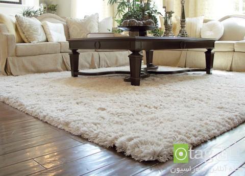 مدل فرش و قالی برای دکوراسیون اتاق نشیمن و پذیرایی خانه