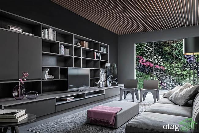 دکوراسیون خانه با رنگ تیره به روشی بسیار کارآمد و پر انرژی