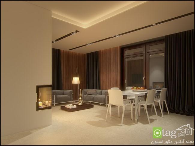 نمونه عکس هایی از دکوراسیون آپارتمان با پلان باز و آزاد