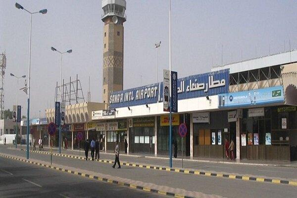 جنگنده های سعودی فرودگاه بین المللی صنعاء را بمباران کردند