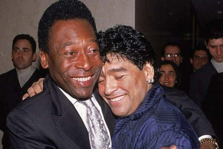 (عکس) پله: روزی کنار دیگو مارادونا در بهشت بازی می&zwnjکنم